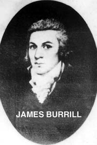 Portrait of James Burrill